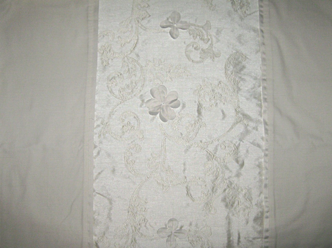 Cream-polycotton-floral-embroidered-dupion-effect-panel